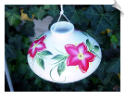 Handpainted Kona Hummingbird Feeder <br> 2 Sizes