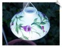 "Handpainted Trumpet Vine Hummingbird Feeder <br> <span style=""color:#1954e9;"">New Item</span>"